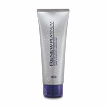 Creme De Limpeza Facial 2 Em 1 Renew Platinum 125g Avon