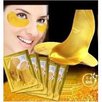 Máscara De Colágeno Ouro Crystal Anti Rugas