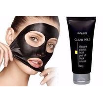 Máscara Plástica Facial Removedora De Cravos E Espinhas 60g