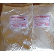 Argila Branca - Kit Com 2 Kg