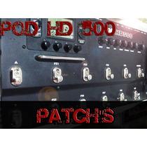Pacote De Patchs Pod Hd500