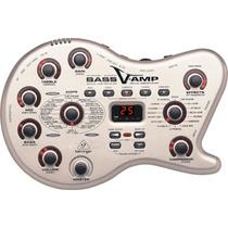 Pedaleira Behringer Bass V-amp Lx1b P/ Baixo Violão - 4477