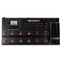Pedaleira P/ Guitarra Pod Hd500x Line 6