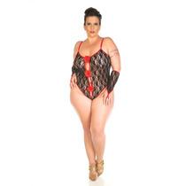 Body Espanhola Plus Size Pimenta Sexy - Shopsensual Sex Shop