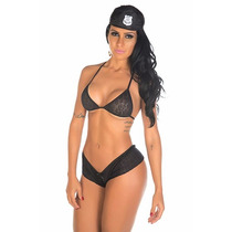 Policial Sexy 2 Fantasia Erótica Feminina - Sex Shop