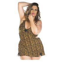 Camisola Sensual Plus Size Lú Pimenta Sexy - Toy 4601