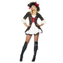 Fantasia Feminina Pirata / Capitã