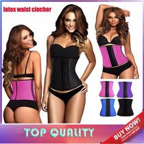 Cinta Waist Cincher Latex Cherry Modeladora Lançamento!