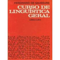 Livro Curso De Linguistica Geral Saussure