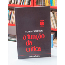Livro A Função Da Crítica Terry Eagleton