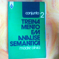 Livro Treinamento Em Analise Semantica