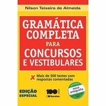 Livro - Gramática Completa Para Concursos E Vestibulares #