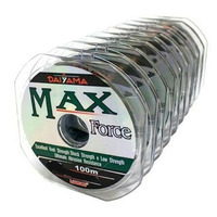 Linha Daiyama Max Force 0.33mm - 24lbs/11kgs - 10 Carretéis