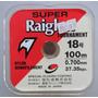 Linha Monofilamento Super Raiglon 18 - 0.700mm - 100m