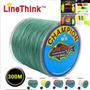 Linha Multifilamento 300m 8 Fios 16 A 200 Lb + Kit 45 Peças