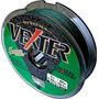 Linha Multifilamento Vexter 0,29mm 40lbs 100 Metros, Verde