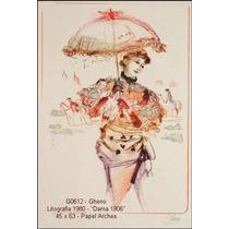 Litografia Gheno 1990 - 45x63 Ag176