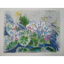 Guyer Salles - Flores - Litografia De 1986 !!!