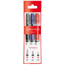 Kit Pincel Para Aquarela Caran D