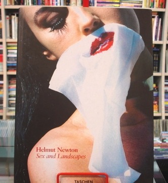 Livro - Helmut Newton - Sex And Landscapes - Fotografia Raro