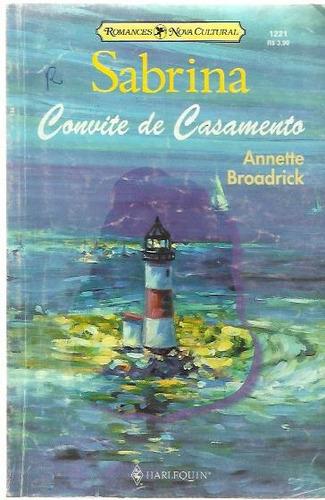 Livro Sabrina Convite De Casamento Nº 1221