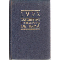*ock*anuario Das Testemunhas Jeova-1992-rari