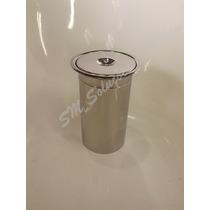 Lixeira De Embutir No Granito 15cm Em Inox P/ Cozinha Ou Wc