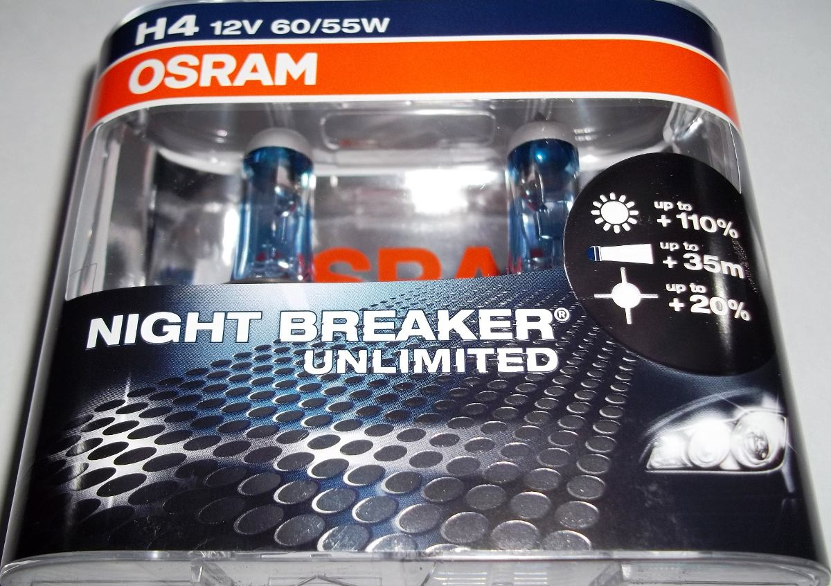 l mpadas h4 osram night breaker unlimited 3900k par 110
