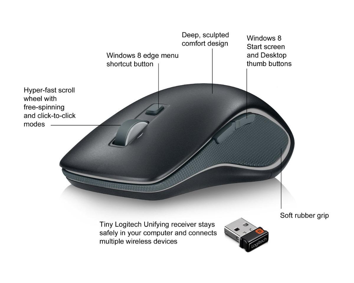 Logitech Wireless Mouse M560 For Windows 7 8 R 149 99
