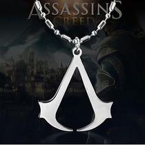 Pingente+corrente Assassins Creed Logo
