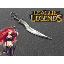 Lol League Of Legends Katarina Espada Chaveiro Importado