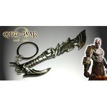 Chaveiro Importado God Of War Ascension Espada Kratos Nova