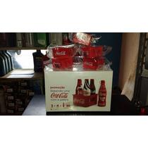 1 Uni Cx Lacrada Com As Minigarrafinhas Coca-cola Da Galera