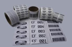 Lote C/ 1.000, Etiquetas, Impressas, Códigos De Barras, Seq