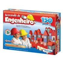 Brincando De Engenheiro 150 Peças - Xalingo - Pronta-entrega