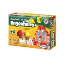 Brincando De Engenheiro 42 Peças - Xalingo - Pronta-entrega!