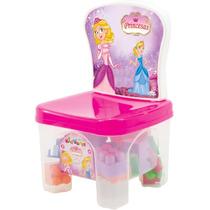 Kidverte Princesas Blocos De Montar Brinquedo Big Star