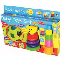 Brinquedo De Montar Encaixe E Brinque Baby Toys Criança