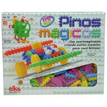 Pinos Mágicos 170 Peças - Brinquedo De Montar + Nf