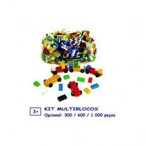 Kit Multiblocos Com 1000 Peças