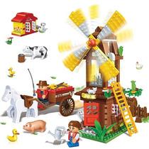 Brinquedo De Montar Moinho Da Fazenda 260 Pcs