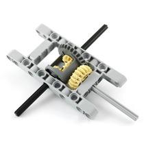 Lego Technic Peças Diferencial Frame Eixos Engrenagens 9pçs