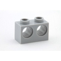 Lego Technic 5 Peças Brick 2x1 C/ 2 Furos Pn 32000