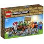 Lego 21116 Minecraft Caixa Criativa - 518 Pcs C/ Nota Fiscal