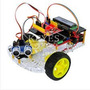 Chassi Carro Robotico 2 Motores Inteligente Completo