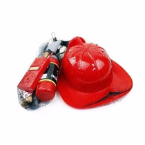 Kit Bombeiro/acessórios/menino/fantasia/infantil/capacete