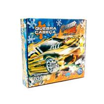 Quebra Cabeça De Carros 100 Pçs Brinquedo Infantil