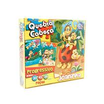Quebra Cabeça Joaninha Com 30,45,56 Peças Brinquedo Infantil
