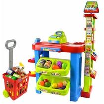 Meu Super Mercado Infantil Belfix C/ Caixa Registradora