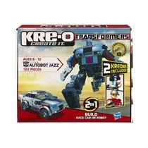 Bloco De Montar Kre-0 Transformers - Autobot Jazz - Hasbro-